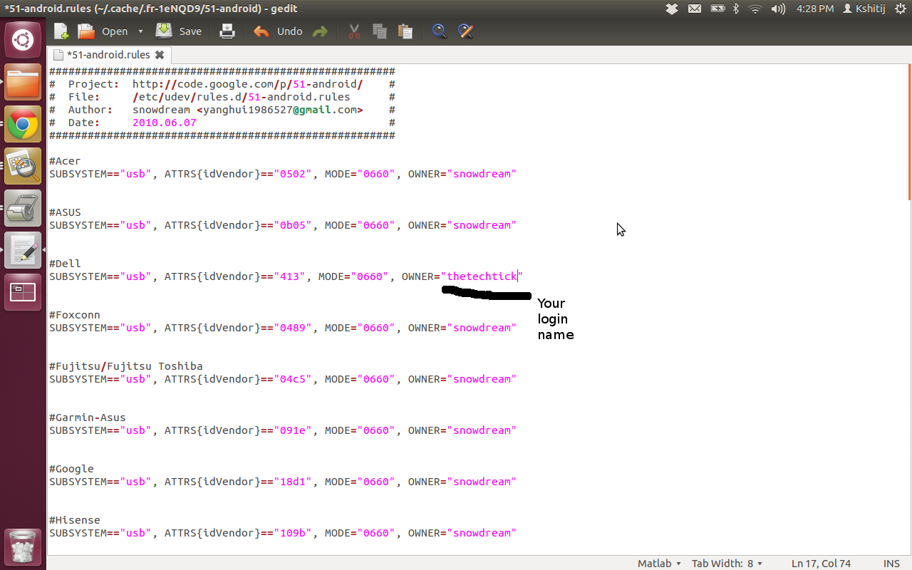 Tech Tick: Using Real Android device for Debugging on Linux