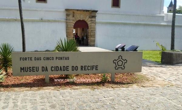 Museu da Cidade do Recife/Forte das Cinco Pontas