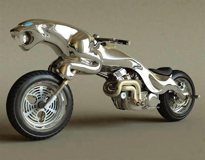 Motorsikal Yang Unik Dan Luar Biasa