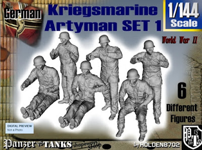 1-144 Kriegsmarine Artyman Set 1 picture 1