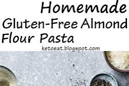 Homemade Gluten-Free Almond Flour Pasta