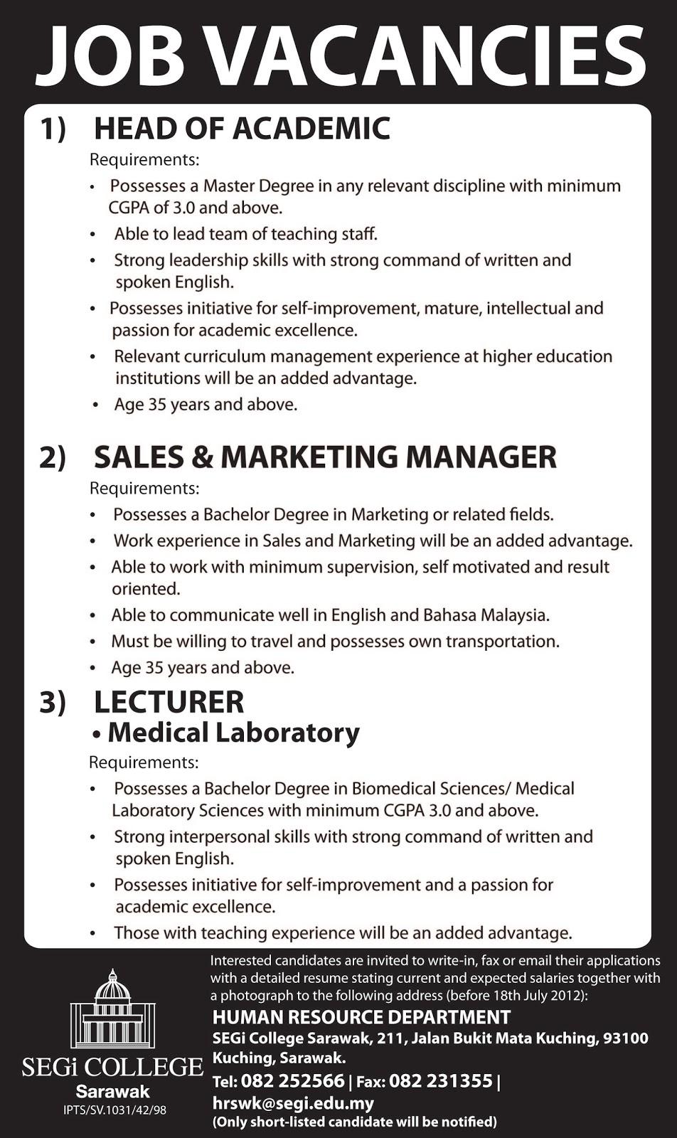 job application letter vacancy job application letter vacancy tk