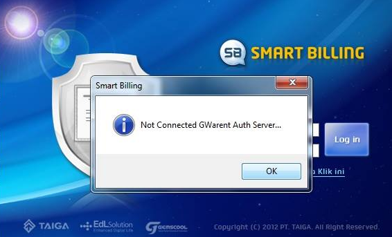 Solusi Error Smart Billing Not Connected GWarnet Auth Server