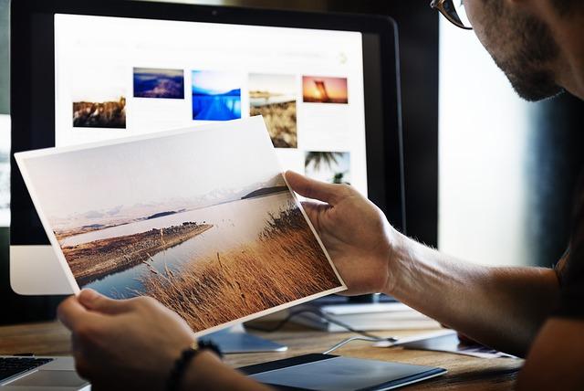 images, logo. emphasize