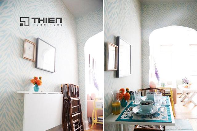 Những mẫu bàn ăn đa năng tiết kiệm không gian cho nhà nhỏ - www.TAICHINH2A.COM