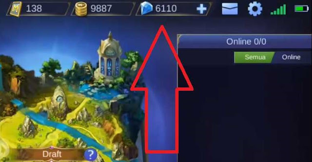 Download Script 6000 Diamond Mobile Legends Gratis Patch Terbaru