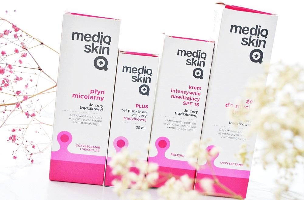 Mediq Skin Plus - pielęgnacja cery trądzikowej - prezentacja serii + wrażenia po miesiącu stosowania