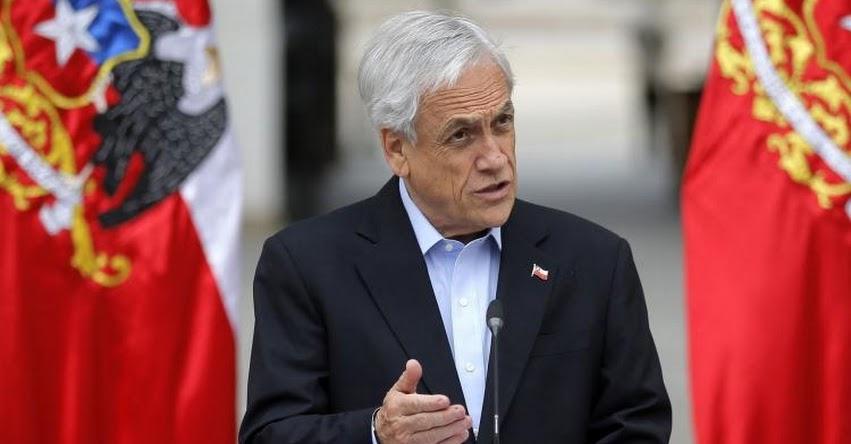 Ordenan a ministros poner cargos a disposición a pedido de Sebastián Piñera, tras estallidos social en Chile