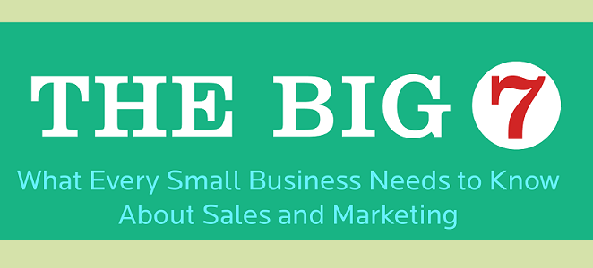 image: 7 Step Sales And Marketing Guide For Small Businesses (infographic)