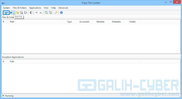 Cara Mudah Mengunci Software & Folder di PC