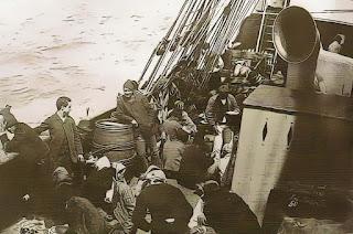 Navio com Imigrantes Alemães