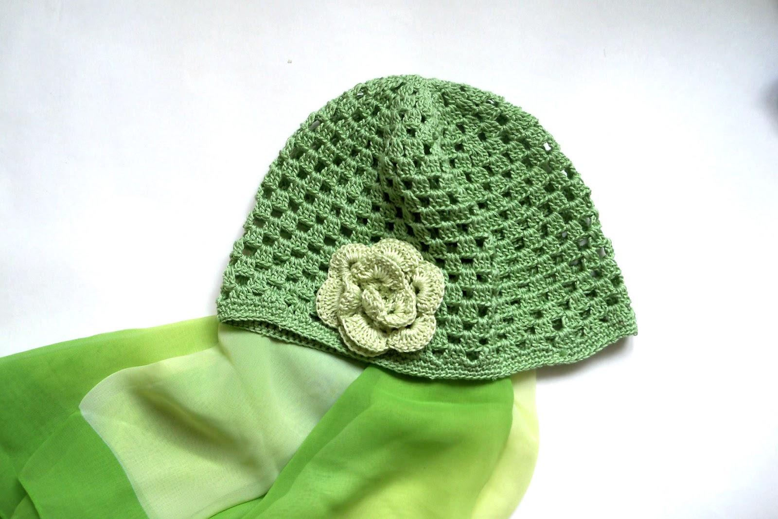 POLIANNA: Вязаные шапочки для девочек. Заколки.