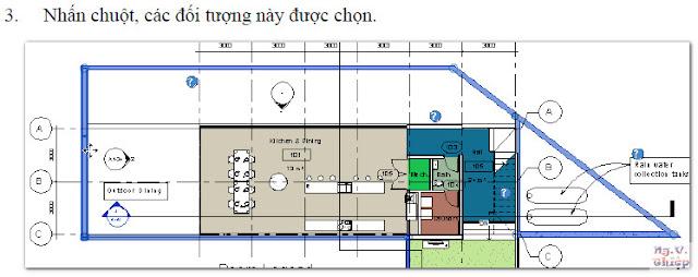 Cách chọn đối tượngk trong Revit 2014 đến 2016 Chon-dtuong-5