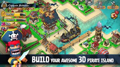 Plunder Pirates 3D Island