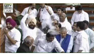 lok-sabha-adjourned-for-a-day-due-to-congress-s-ruckus