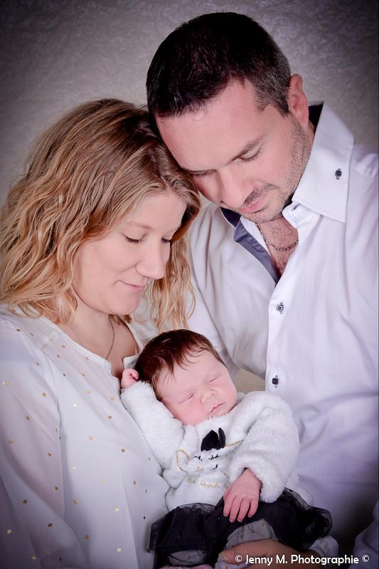 portrait maman bébé papa photo studio famille
