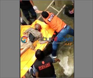 Warga Kadudampi Sukabumi Geger, Sesosok Mayat Ditemukan di Sungai