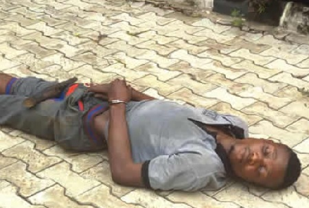 Ondo Kidnapper Who Took Tramadol Still sleeping 6 Days After In Police Custody