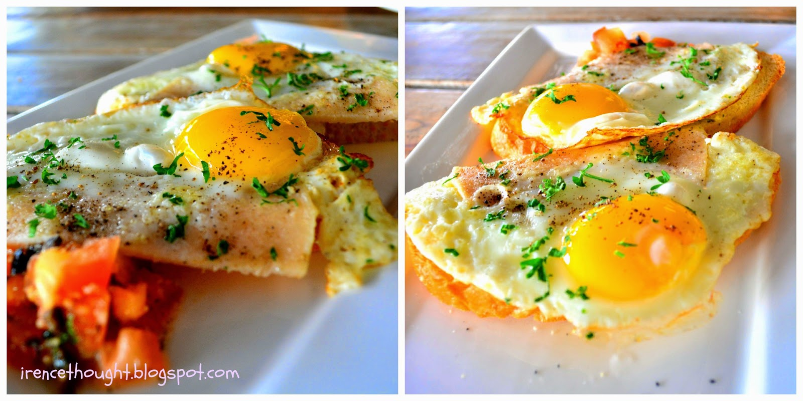 Bruschetta Chicken Ham and Egg