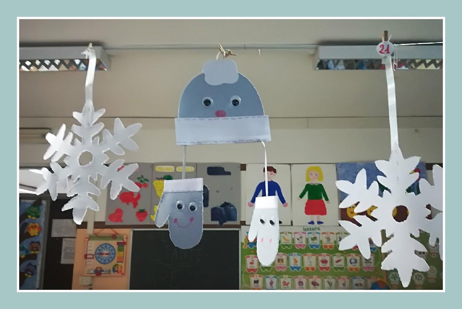 il blog della maestra francy addobbi invernali per la classe