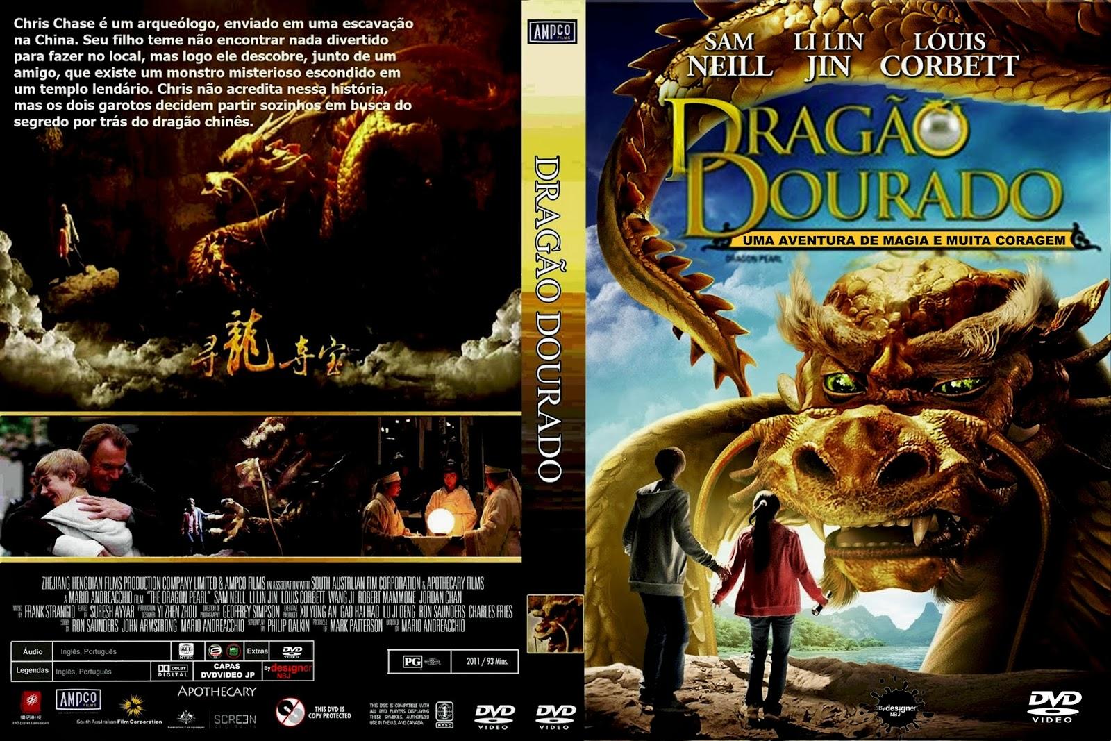 CAPAS DVD VIDEO JP: DRAGÃO DOURADO