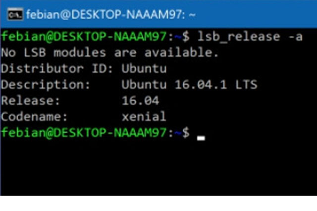 Fitur baru Bash Linux (Windows Subsystem for Linux) pada Windows 10 Creators Update