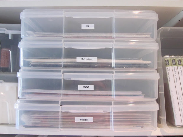 12X12 Scrapbook Paper Storage