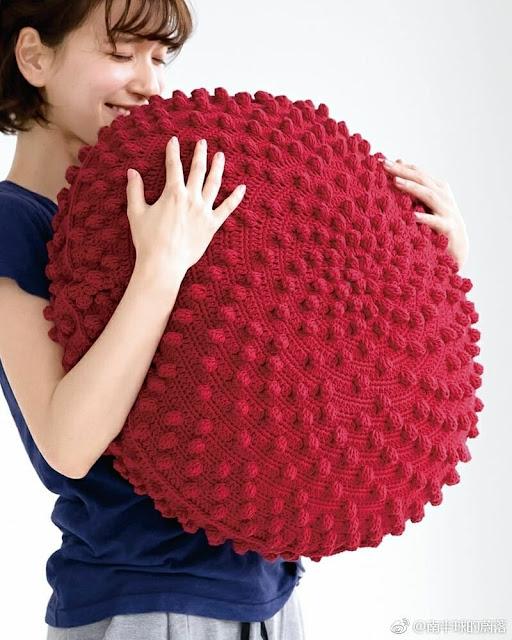 Almofada Vermelha Maravilhosa