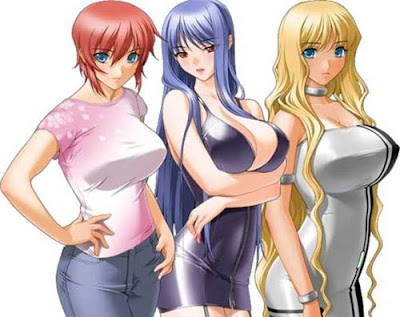 Action anime with nudity