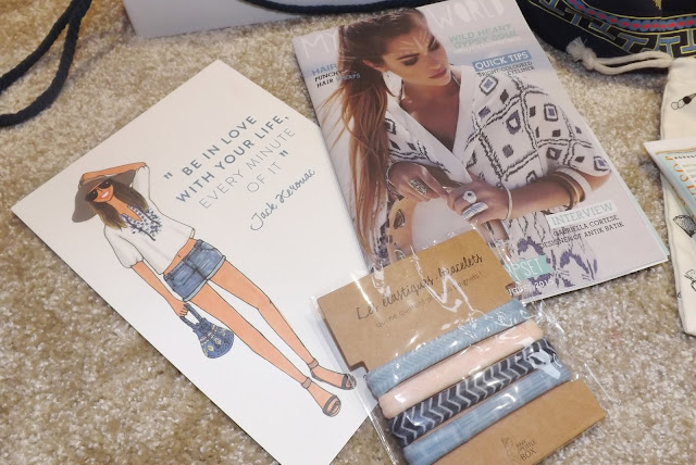 My Little Gypset Box Magazine, Poster & Hair Ties