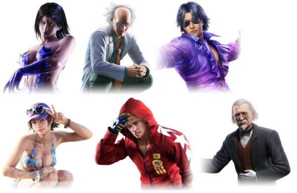 Megaman More Tekken Tag Tournament 2 Characters