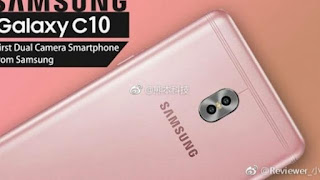 Must See! Samsung Galaxy C10 with dual-camera and rose gold leaks again