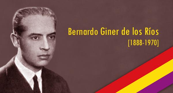 Entregan parte del archivo de Bernardo Giner de los Ríos