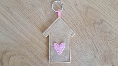 The Happy House Keychain