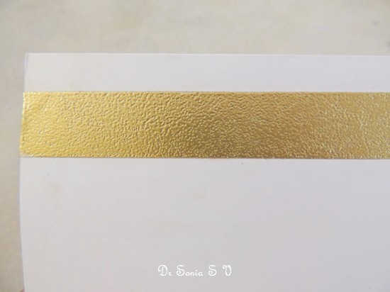 how to use embossing powder without ink