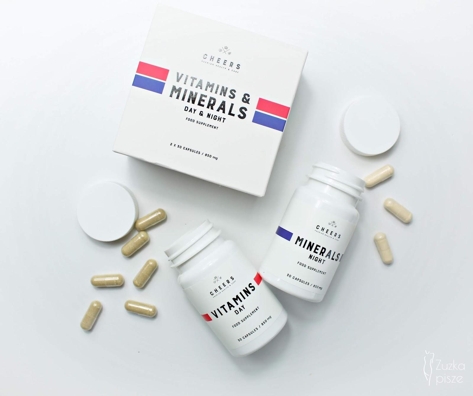 Naturalne witaminy i minerały bez sztucznych dodatków - CHEERS