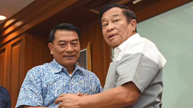 Kata Jokowi, Pemilihan Moeldoko dan Agum Sudah Melalui Pertimbangan Matang