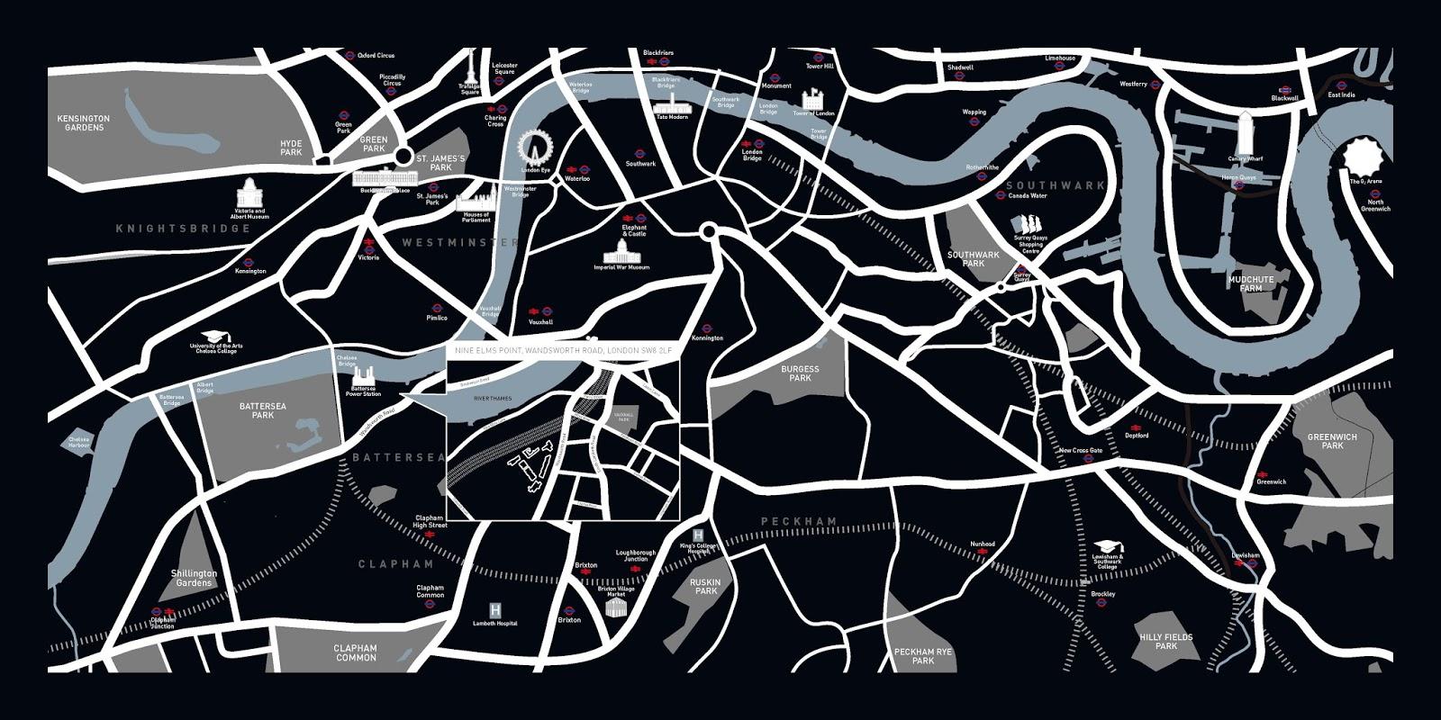 倫敦建案地圖