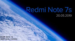 Xiaomi launching Redmi Note 7S with 48MP camera on May 20