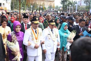 Hadiri Sertijab Gubernur Jawa Barat, Ini Kata Wali Kota Cirebon