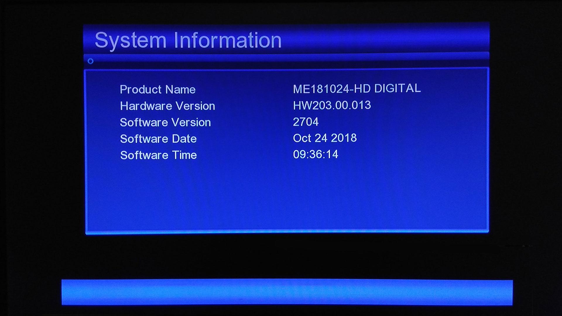 Echolink EL 777 HD Receiver Software Update GX6605S