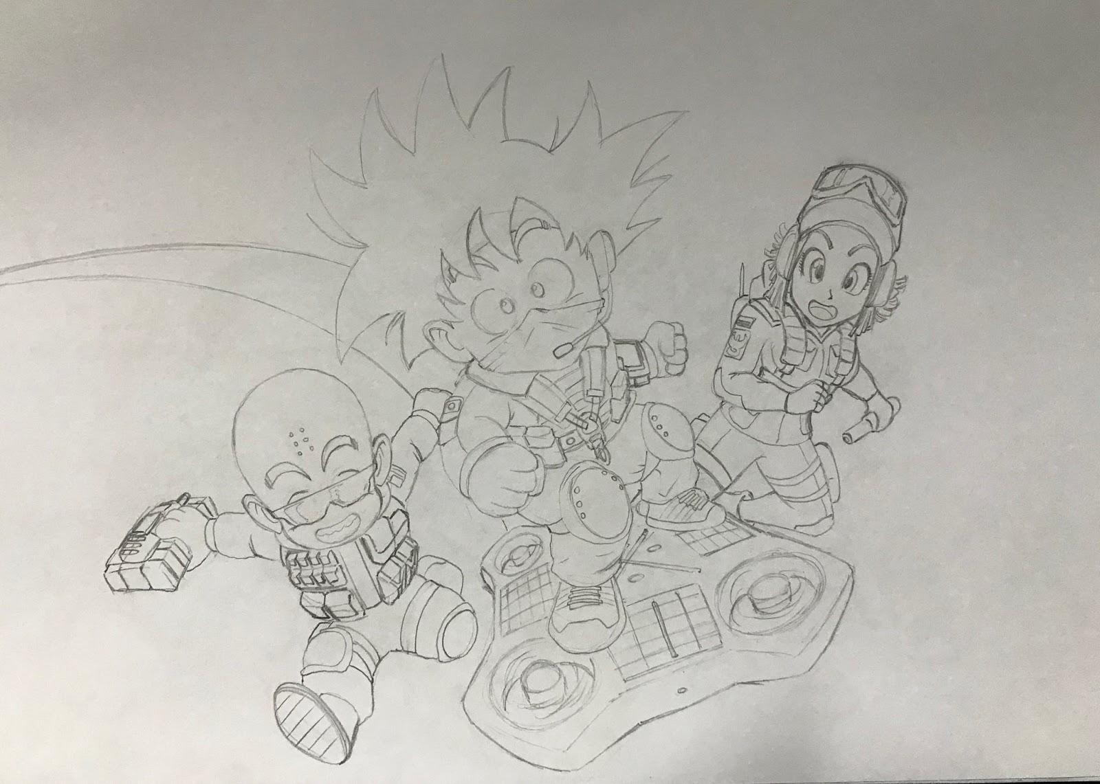 Goku Super Saiyan Para Colorear: Colorear Goku Goku Ultra Instinto Dominado Para Colorear