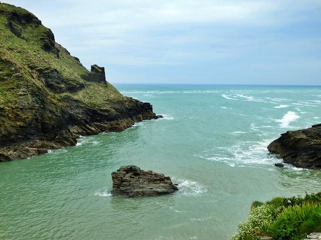 Sea at Tintagel, Cornwall