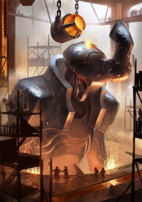 Christian Schob lothrean deviantart ilustrações fantasia games