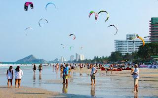 Kite Surfer Hua Hin