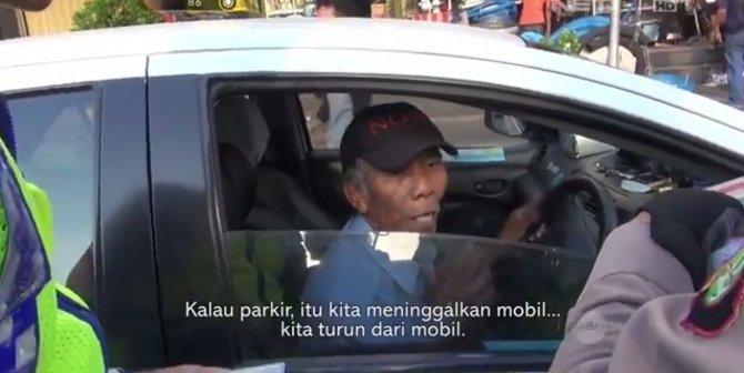 Miris, Sopir Ini Ditilang Karena Polisi Tak Bisa Bedakan Rambu 'S' dan 'P'