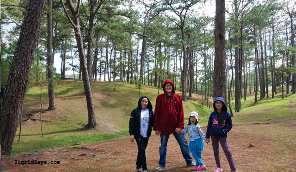 Baguio City - DIY family trip - Camp John Hay