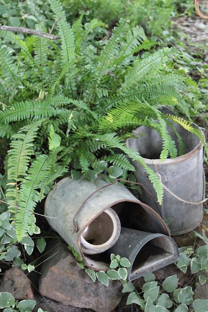 rustic garden tour
