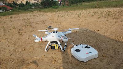 Sekilas Tentang Drone Harga Miring Chresson CX-20