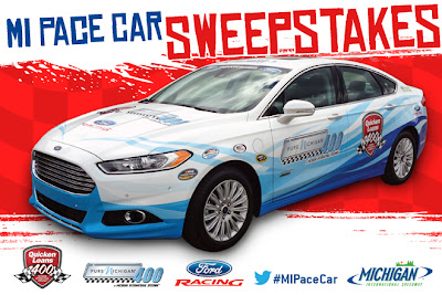 MI Pace Car Sweepstakes